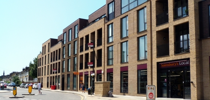 Boultbee LDN and Peveril Securities Complete £12.1 Million Delivery of High Street Project in Brockley, London Photograph