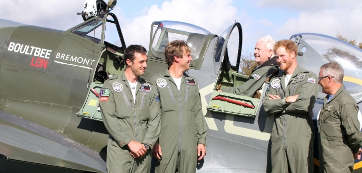 Boultbee LDN sponsors historic Flypast to mark Battle of Britain Photograph
