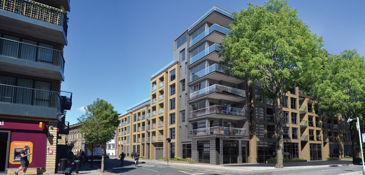 Boultbee LDN completes purchase of Southwark residential development site for £21m  Photograph