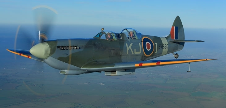 Boultbee LDN sponsors the world's only Spitfire training facility  Photograph