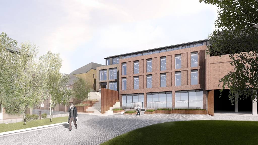Approved planning consent for an additional 25,000 sq ft of prime offices at the Maltings Photograph
